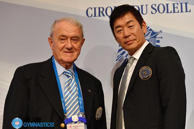 Bruno Grandi (ITA) and Morinari Watanabe (JPN)