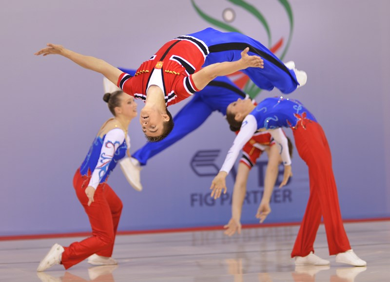 The Russian Group at the 2012 World Championships in Sofia (BUL).