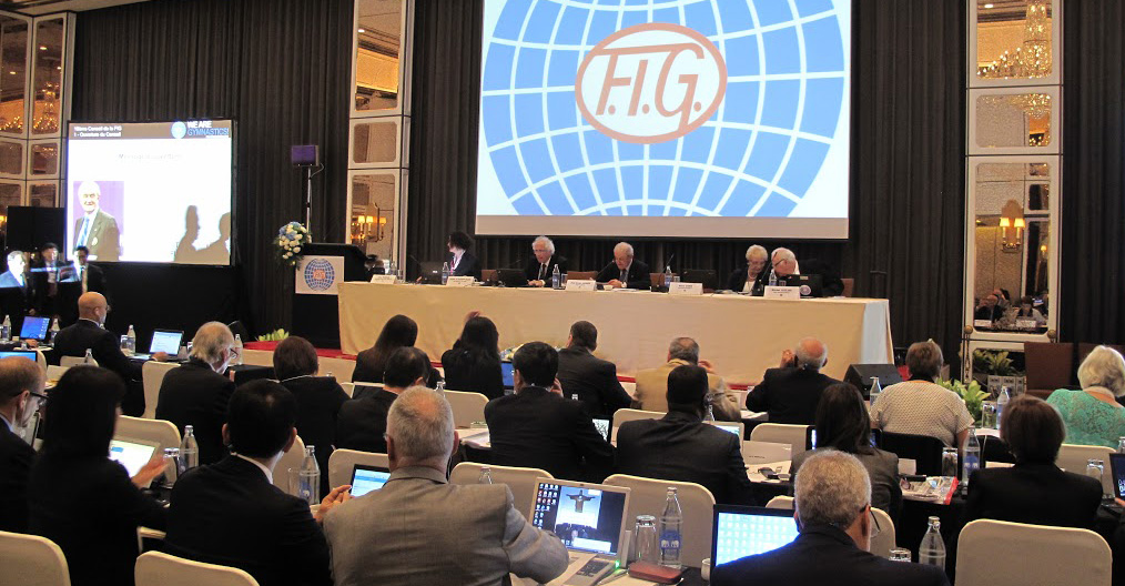 The FIG Council meeting in Bangkok