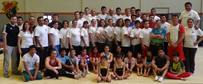 Artistic and Trampoline Gymnastics Academy participants