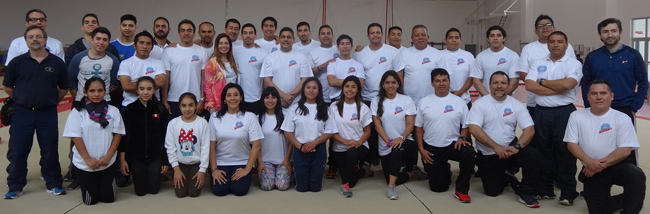 27 coaches attended the Level 2 Academy for Artistic Gymnastics in Lima.